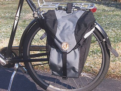 Breezer Year-Rounder Pannier on bike